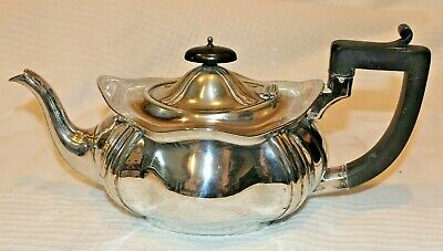 Good Looking Antique Silver Plated Teapot By William Adams c1865-1890