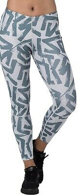 ASICS 7/8 Anytime Tights Running AO Calligraphy Mid Grey Women'S S MSRP NEW