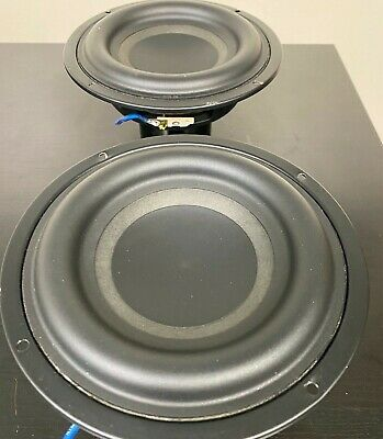 "2 TWO units Car Audio Subwoofer Speaker Tang Band W6-1139SI 6-1/2"" Bass driver"