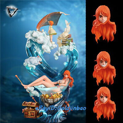 One Piece Nami's Memory Resin Model Painted Statue Child Namie Statue Pre-order