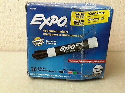 Expo Dry Erase Markers 36 Count Colors