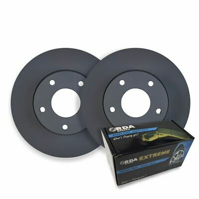 DIMPLED SLOTTED FRONT DISC BRAKE ROTORS for Toyota MR2 SW20 1989-91 RDA580D
