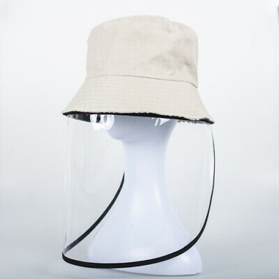 Fisherman Hat with Face Shield Protection Face Mask for Adult, Various Colors