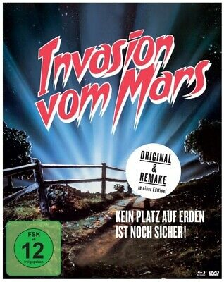 Invaders from Mars - Digibook 3-Disc Limited Collector's Edition / Blu-ray + DVD