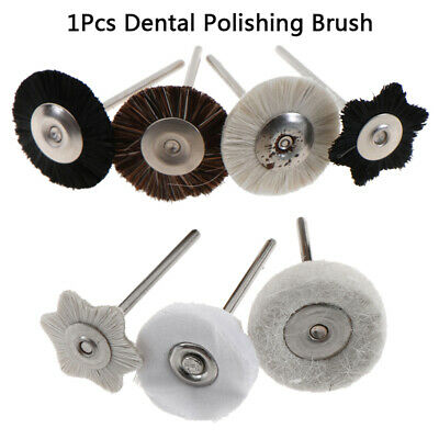 1Pcs Grinding Buffing Dental Accessories Wool Polishing Flat Brush Grinder B CHV