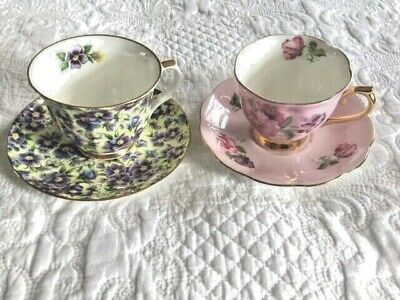 Porcelain Espresso Coffee Cup and Saucer Windsor by Kopin