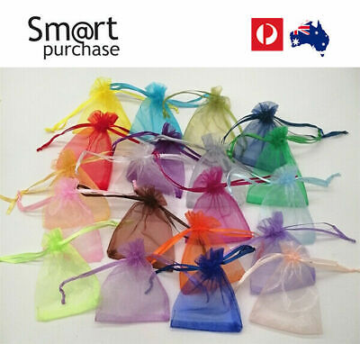 Organza Sheer Bag Wedding Gift Bags Jewellery Pouch Party Candy Packaging Gift z