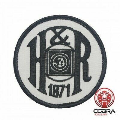 H&R Firearms embroidered patch | Iron On | Military Airsoft