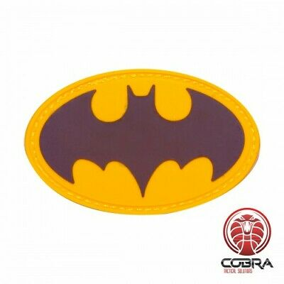 Batman Gold movie cosplay PVC patch with velcro
