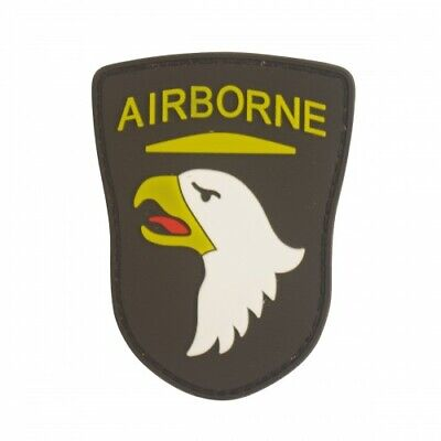 Airborne Eagle PVC Military Patch