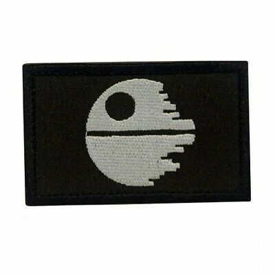 Movie Patch Dead Star of Star Wars with velcro