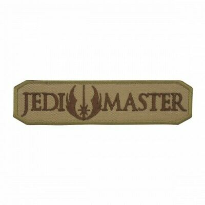 Jedi Master Star Wars Embroidered Cosplay Brown Patch