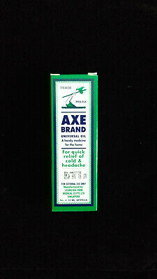 New Singapore Axe Brand Universal Medicated Oil 10ml Cold Headache Muscular Pain