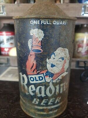 Old Reading Cone top Beer Can