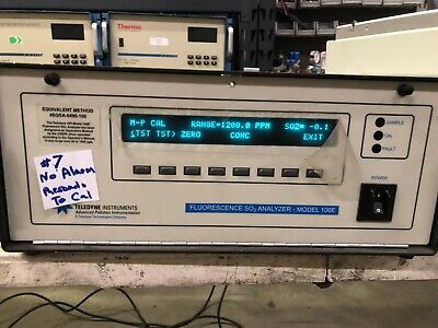 API Teledyne Fluorescence SO2 Analyzer Model 100E
