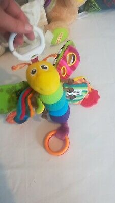 Lamaze butterfly hanging pram/cot toy. VGC