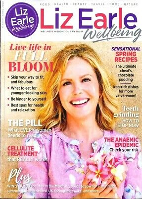 Liz Earle Wellbeing Magazine Issue March / April 2020 ~ New ~