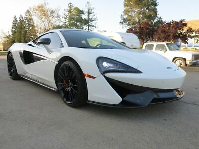 2017 McLaren 570 S Track Pack 3.8L V8 Twin-Turbo/560 hp/dual-clutch 2017 McLaren 570 S damaged rebuildable wrecked salvage Low Miles 17 570S