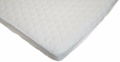 American Baby Company Waterproof Quilted Cotton Mini Crib Mattress Pad Cover