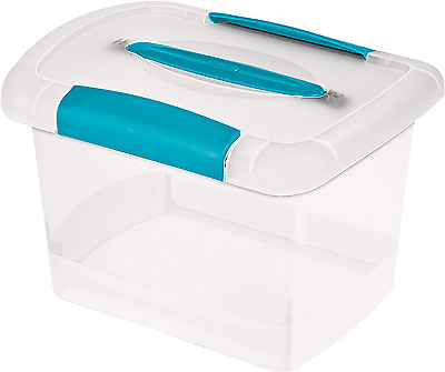 Small Nesting ShowOffs Clear File Box with Latches