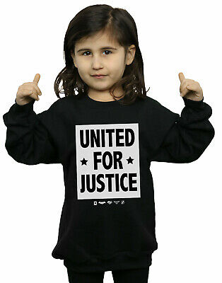DC Comics Girls Justice League United For Justice Sweatshirt