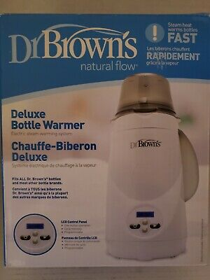 Dr. Brown's Natural Flow Deluxe Bottle Warmer **BRAND NEW**