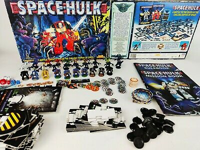 SPACE HULK 2nd edition BOARD GAME - 100% complete [ENG,1996]