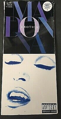 Madonna – Erotica - Cd Longbox Out of Catalog USA drilled -  MINT NEW