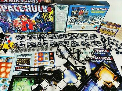 SPACE HULK 2nd edition BOARD GAME - 100% complete ON SPRUES [ENG,1996] + EXTRAS