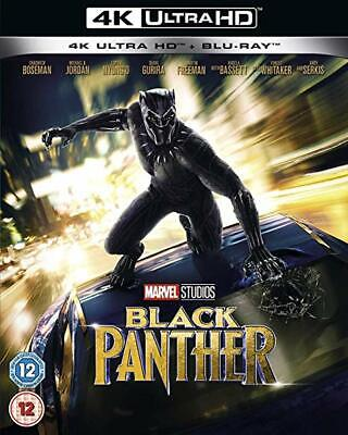 Black Panther (Marvel) [4K Uhd+Bluray] New & Sealed (No Slipcover)