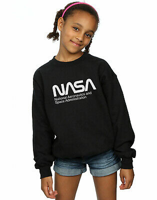 NASA Girls Aeronautics And Space Sweatshirt