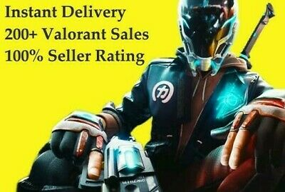 NA Valorant Account Instant Delivery Trusted Seller Untouched Accounts