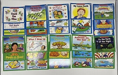 Scholastic Level C and D Little Leveled Readers Learn to Read Books Set 30