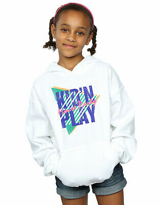Kid N Play Girls House Party Stripes Hoodie