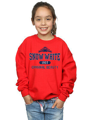 Disney Girls Princess Snow White Original Beauty Collegiate Sweatshirt
