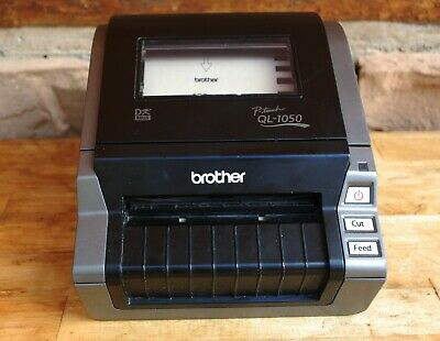 USED: Brother QL-1050 P-Touch Label Printer W/ Cable