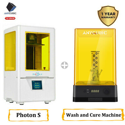 DE ANYCUBIC SLA LCD 3D Drucker Photon S / Wash and Cure Machine Hohe Präzision