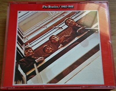The Beatles 1962-1966 Red Album 2Cd Fatbox Us Import Capitol/Apple With Brochure