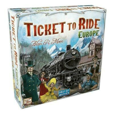 Ticket to Ride Europe - Brand New & Sealed