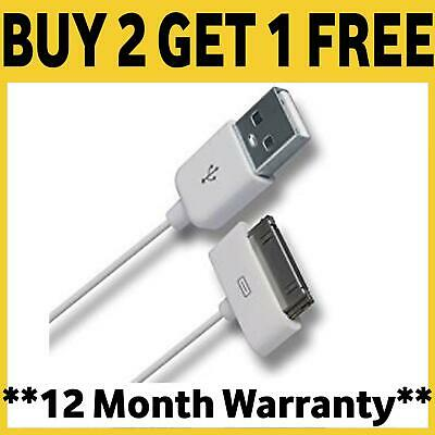 GENUINE CE & RoHS CHARGER CABLE FOR APPLE IPAD 2 3 4 IPHONE