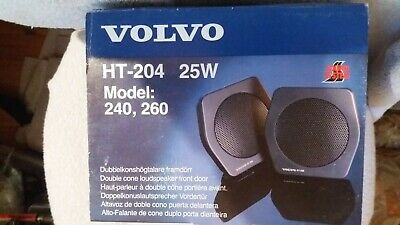 Volvo 240 260 Nos Ht-204 Door Loudspeakers Very Rare