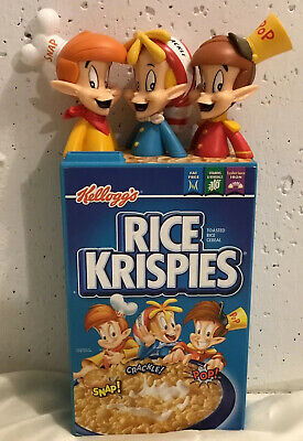 Vintage Kellogg's Rice Krispies 100 Year Anniversary Bank Snap Crackle Pop 2006