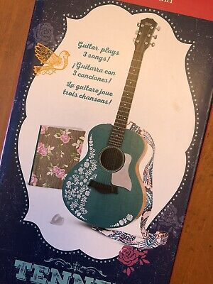 New American Girl TENNEY GRANT's GUITAR Plays 3 Songs + Song Book + Strap