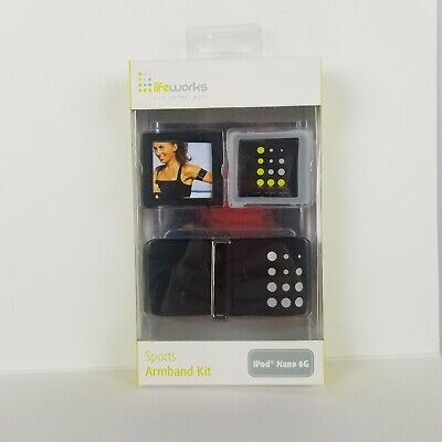 LifeWorks Sport New iPod Nano 6th Generation Active Use Armband New NIB