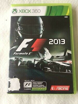Xbox 360 F1 Race Racing Game Formula 1 / One 2013