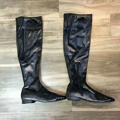 Silver Ivanka Trump Womens Lundy 3 Closed Toe Ankle Fashion Boots Size 8.5