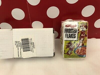 New Kelloggs Frosted Flakes Tony The Tiger Vintage Look Keepsake Box Collectible