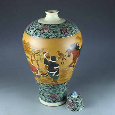 Chinese Exquisite Handmade the ancients porcelain vase