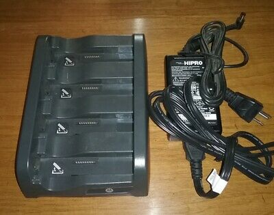 ** Motorola Symbol SAC4000-4000CR 4-Slot Battery Charger With A/C Adaptor **