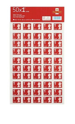 50 x Large Letter 1st First Class Stamps Royal Mail *FAST AND FREE SHIPPING*